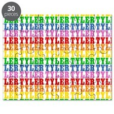 Rainbow Name Pattern Puzzle