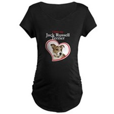 Love My Jack Russell Maternity T-Shirt