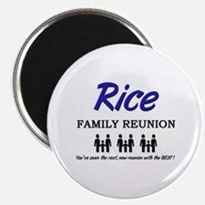 Rice Family Reunion Magnet