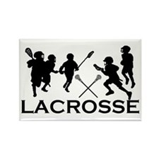 LACROSSE TEAM - Rectangle Magnet