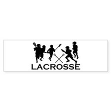 LACROSSE TEAM - Bumper Car Sticker