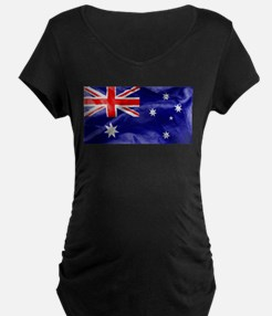 Australia Flag Maternity T-Shirt