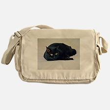 Black Cat! Messenger Bag