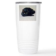Black Cat! Travel Mug