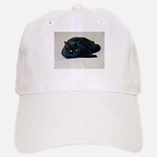 Black Cat! Baseball Baseball Baseball Cap