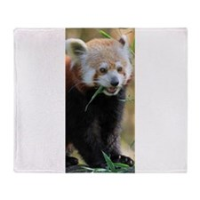 Red Panda 005 Throw Blanket