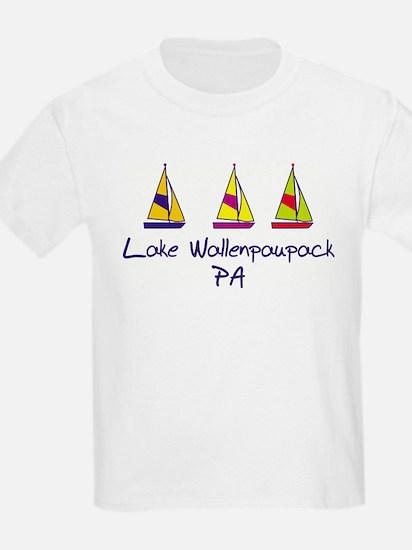 lkwallen_baby_sailboats T-Shirt