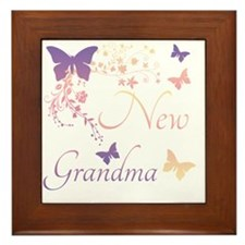 New Grandma Framed Tile