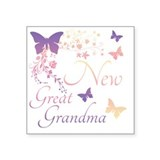 Great grandma to be Stickers & Flair