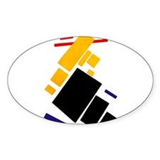 Malevich Abstract Rectangles Russian Artis Decal