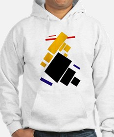 Malevich Abstract Rectangles Rus Hoodie