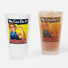 Yes Means Yes So Let's Ball Drinking Glass