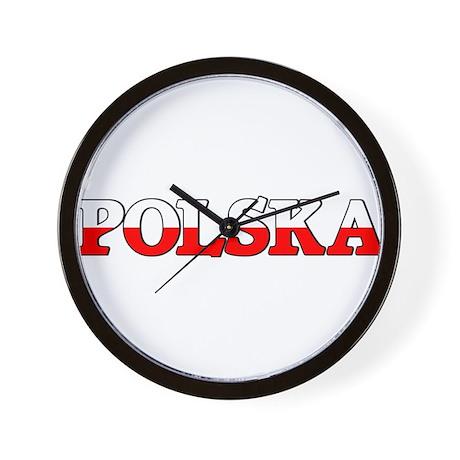 """<font size=""""+2""""><b>Polish t-s Wall Clock"""