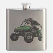 Funny Vehicles Flask
