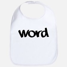 Word Statement Clothing and G Bib