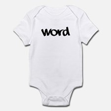 Word Statement Clothing and G Infant Bodysuit