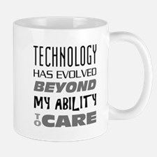 Technology Evolution Medium Mugs
