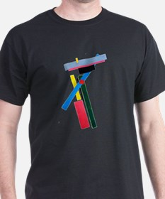 Malevich Abstract Rectangles Russian Artis T-Shirt