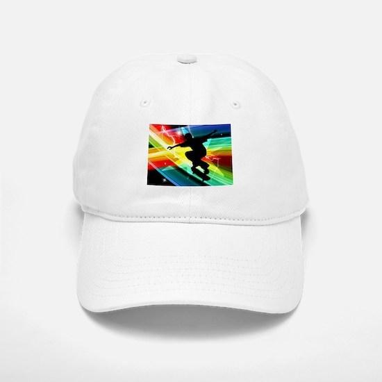 Skateboarder in Criss Cross Lightning.png Cap