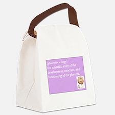 placentology Canvas Lunch Bag