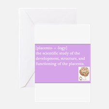 placentology Greeting Cards