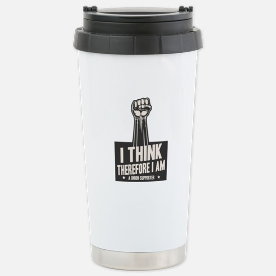 I think Union Stainless Steel Travel Mug