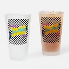 One Stop Doo Wop Shop Drinking Glass