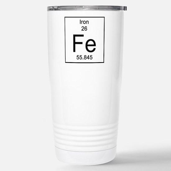 26. Iron Stainless Steel Travel Mug