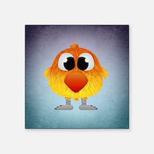 "Funny Cartoons lovebirds Square Sticker 3"" x 3"""