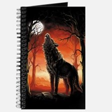 Howling Wolf at Sunset Journal