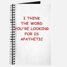 apathetic Journal