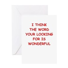wonderful Greeting Cards