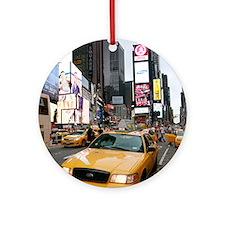 New York City Times Square - Prof Ornament (Round)