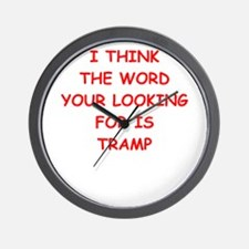 tramp Wall Clock