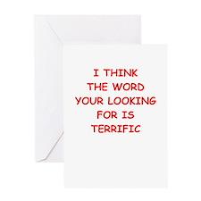 terrific Greeting Cards