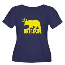 Funny Saying - BEER Plus Size T-Shirt