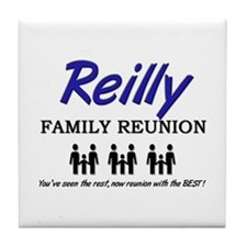 Reilly Family Reunion Tile Coaster