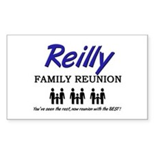 Reilly Family Reunion Rectangle Decal