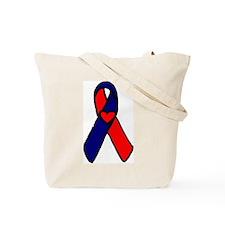 Valerie/Julie Awareness Ribbon Tote Bag