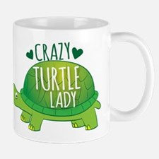 Crazy Turtle lady Mugs