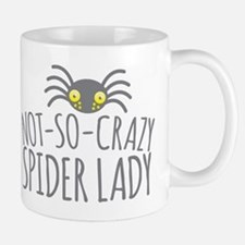 Not-So-Crazy Spider lady Mugs
