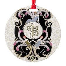 Monogram B Barbier Cabaret Ornament