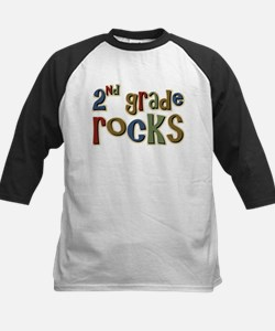 2nd Grade Rocks Second School Tee
