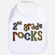 2nd Grade Rocks Second School Bib