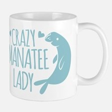 Crazy Manatee Lady Mugs