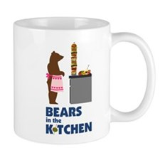 Bears in the Kitchen Mugs