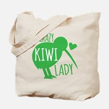 Crazy Kiwi Lady Tote Bag