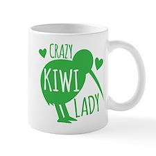 Crazy Kiwi Lady Mugs