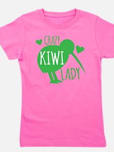Crazy Kiwi Lady Girl's Tee
