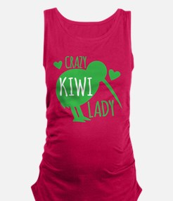 Crazy Kiwi Lady Maternity Tank Top